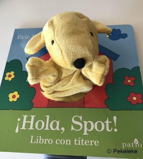 ¡Hola, Spot! (portada con títere)
