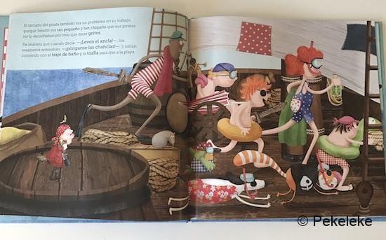 El pequeño pirata Serafín (2)