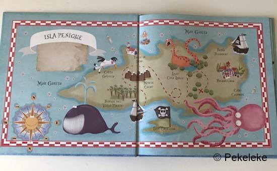 El pequeño pirata Serafín (mapa)