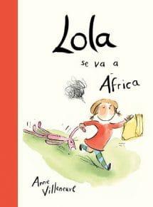 Lola se va a África (portada)
