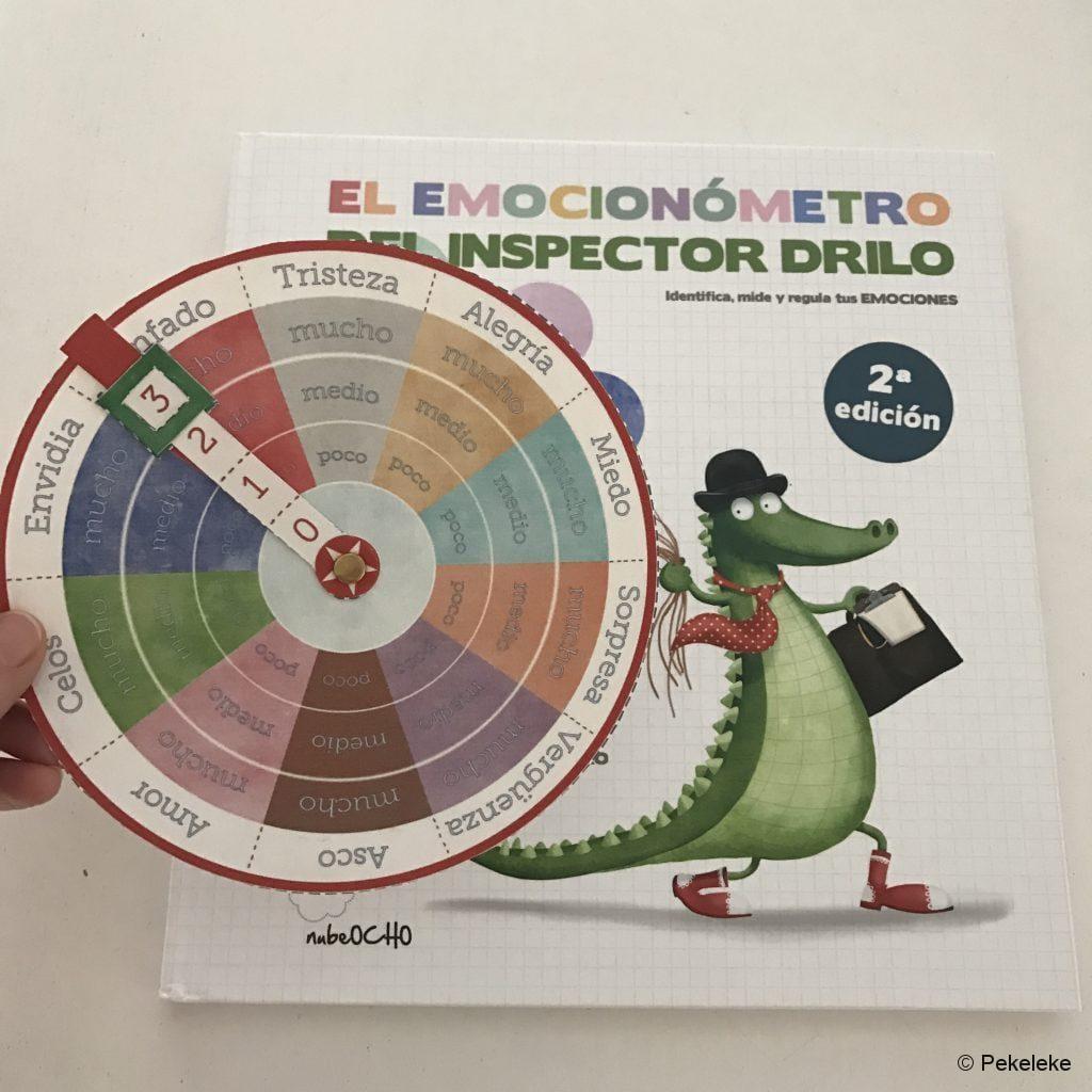 Emocionómetro manualidad Pekeleke