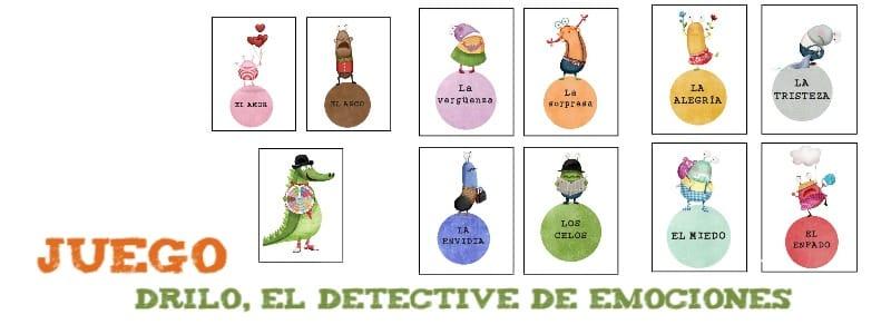 Juego Drilo, Detective de Emociones