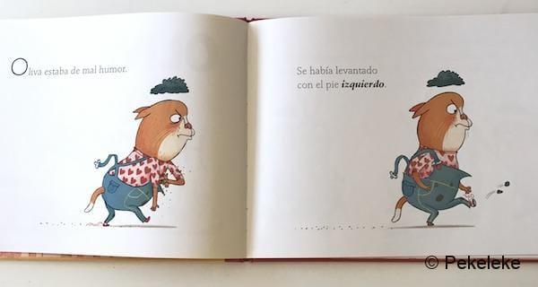 Oliva y el mal humor (1)