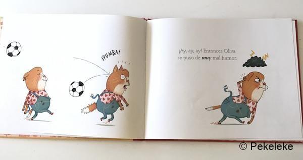 Oliva y el mal humor (3)