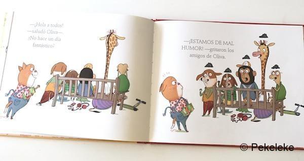 Oliva y el mal humor (5)