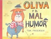 Oliva y el mal humor (portada)