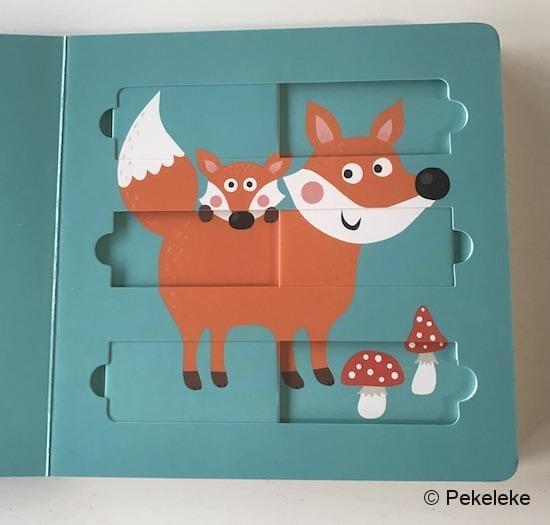 Puzzles Móviles - En el Bosque (COMBEL) - 2