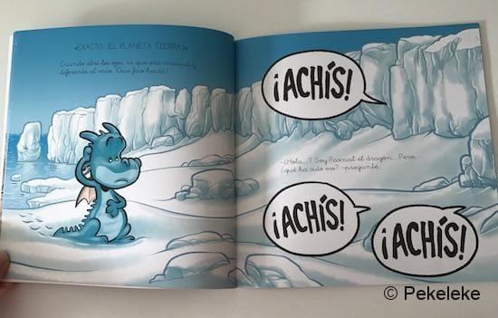 Pascual El Dragón descubre La Antártida (2)