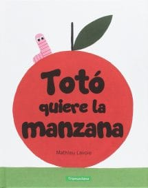 Totó quiere la manzana (portada)