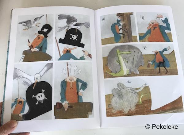 Barbosa el Pirata Cómic para niños de Mamut Cómic