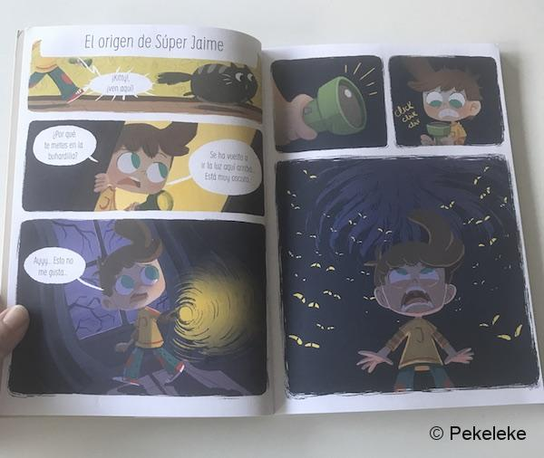 ¡Súper Jaime! - Cómic infantil de La Tribu ediciones (2)