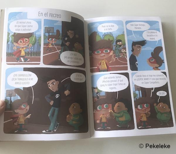 ¡Súper Jaime! - Cómic infantil de La Tribu ediciones (4)