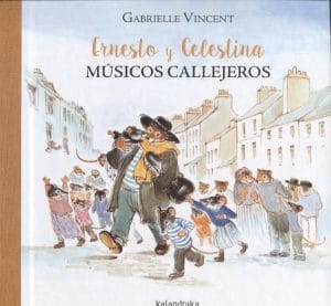 Ernesto y Celestina de Kalandraka (portada)