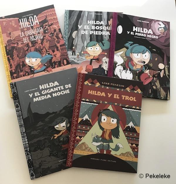 Colección Hilda y el Trol | Cómics para niños