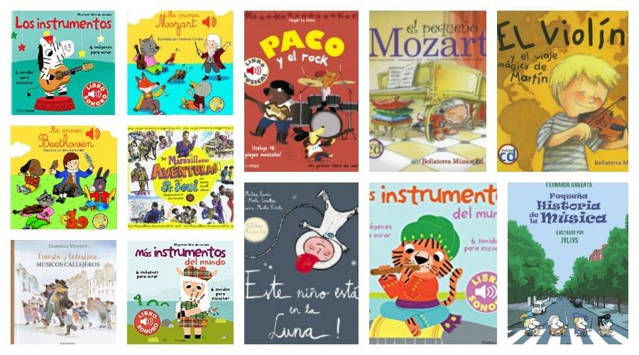 Libros de música para niños