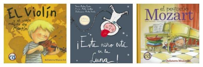 Libros de música para niños Bellaterra