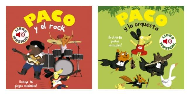Libros Musicales Paco, de Timunmas