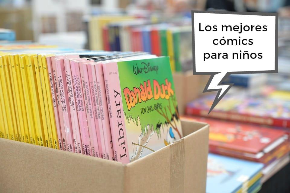 Los mejores cómics para niños: nuestros cómics infantiles favoritos