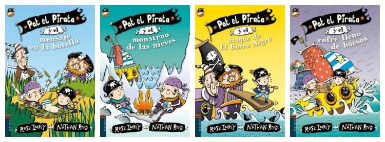 Pat el Pirata - libros infantiles con letra ligada
