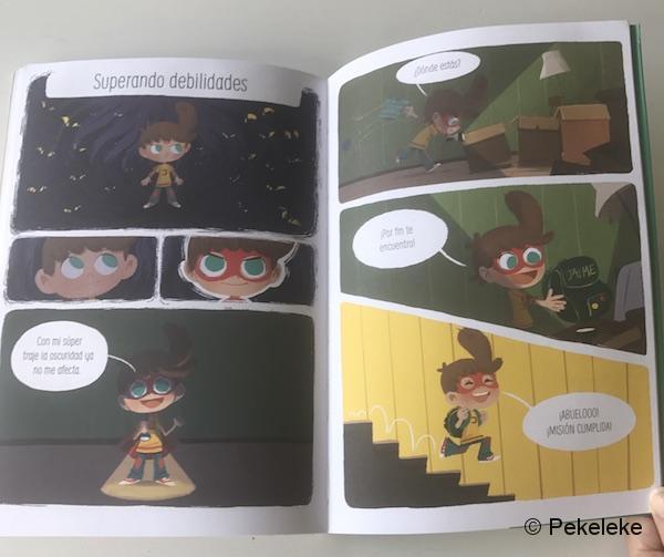 ¡Súper Jaime! - Cómic infantil de La Tribu ediciones (5)