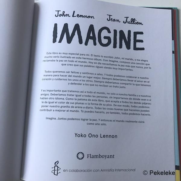 Imagine, cuento ilustrado de la canción de John Lennon - Prólogo