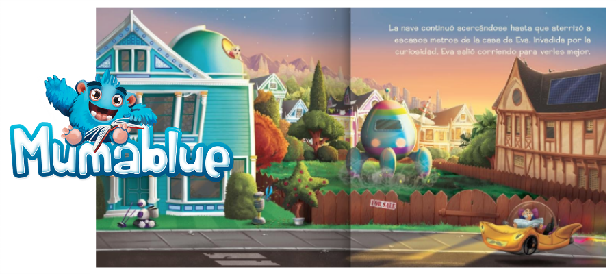 Libros infantiles personalizables Mumablue