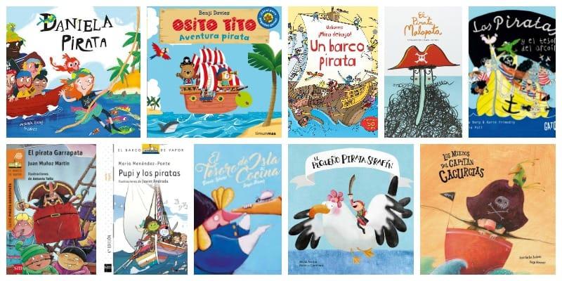 Libros de piratas para niños