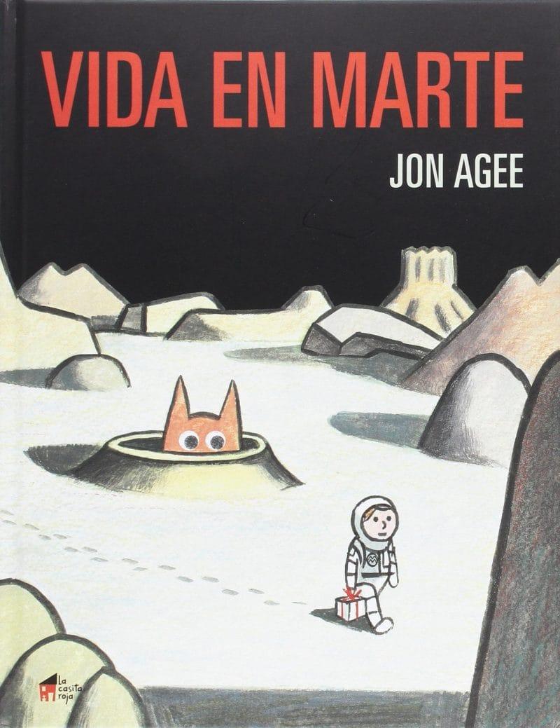 Vida en Marte (portada)