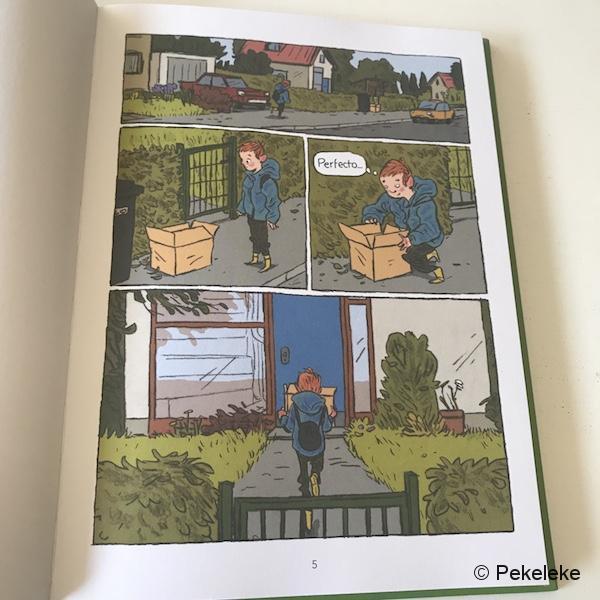 Caja - Cómic infantil La Casita Roja (1)