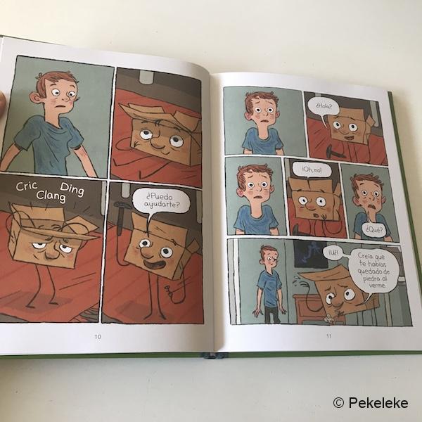 Caja - Cómic infantil La Casita Roja (3)