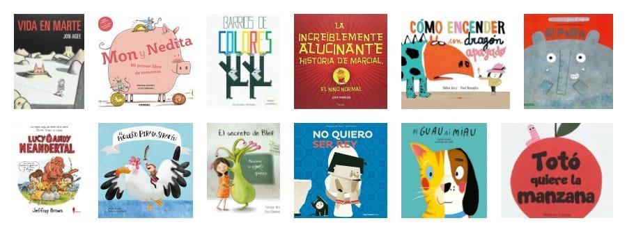 Nuestros libros infantiles favoritos de 2017
