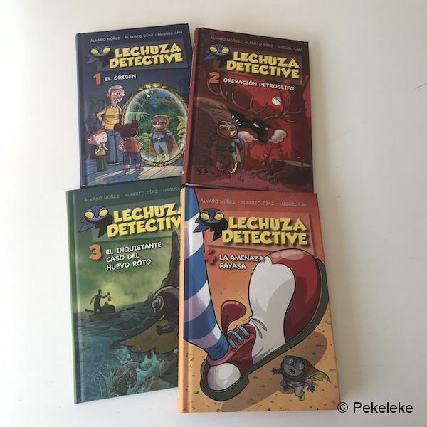 Colección Lechuza Detective