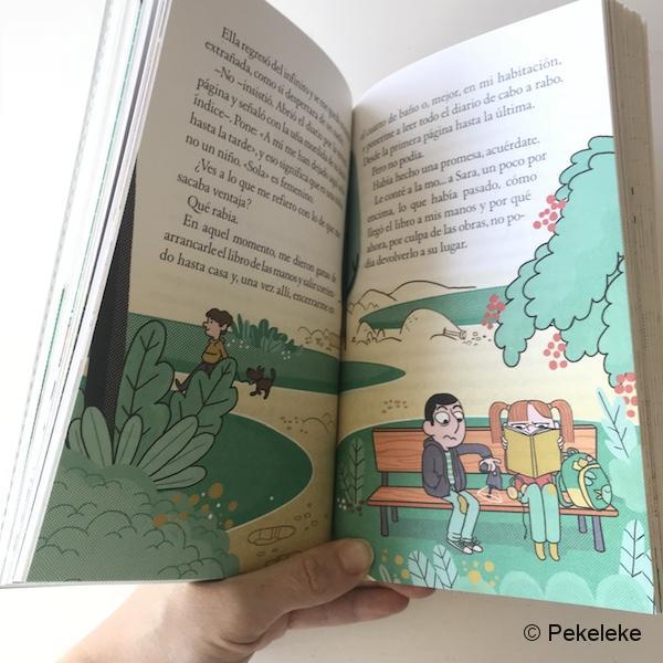 Cómo arreglar un libro mojado (3)