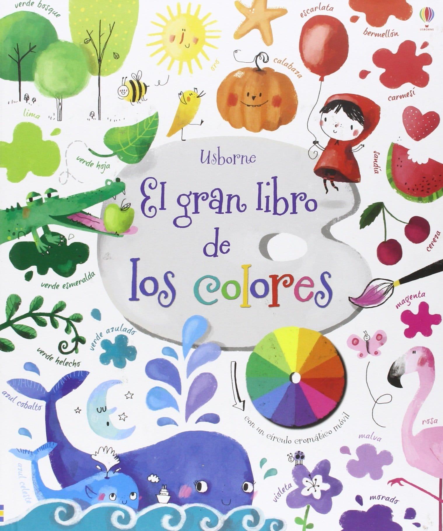 El gran libro de los colores - Usborne
