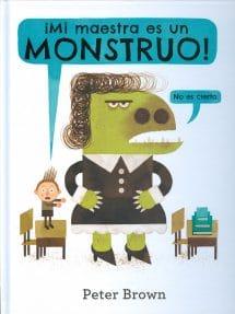 ¡Mi maestra es un monstruo! (portada)