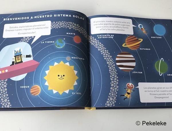 El Profesor Astrocat y el Sistema Solar (1)