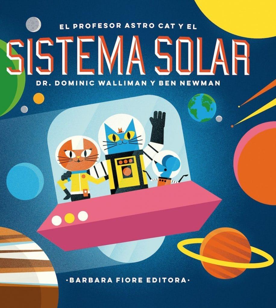 El Profesor Astrocat y el Sistema Solar (portada)