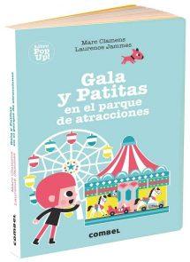 Gala y Patitas en el parque de atracciones (portada)