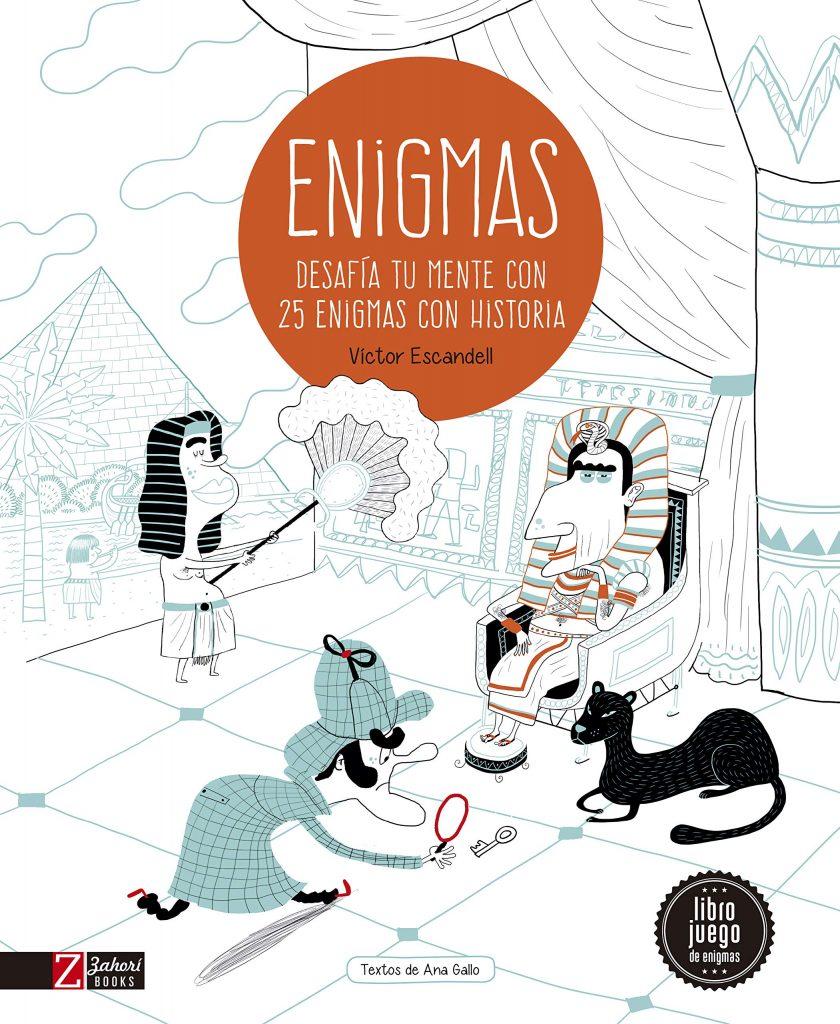 Enigmas - Desafía tu mente con 25 misterios de la historia (portada)