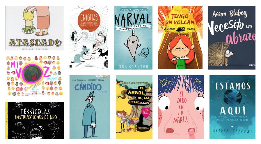 Nuestros 15 libros infantiles favoritos de 2018