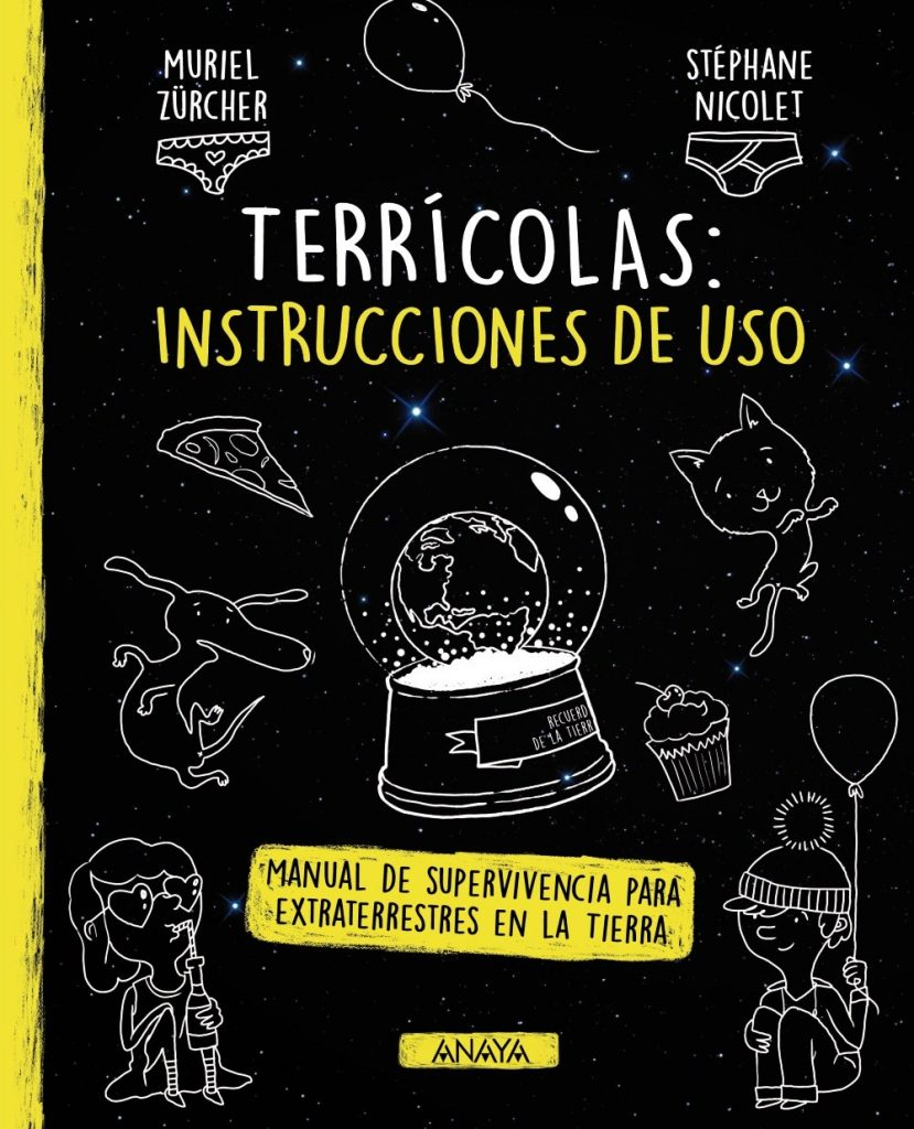 Terrícolas: instrucciones de uso (portada)