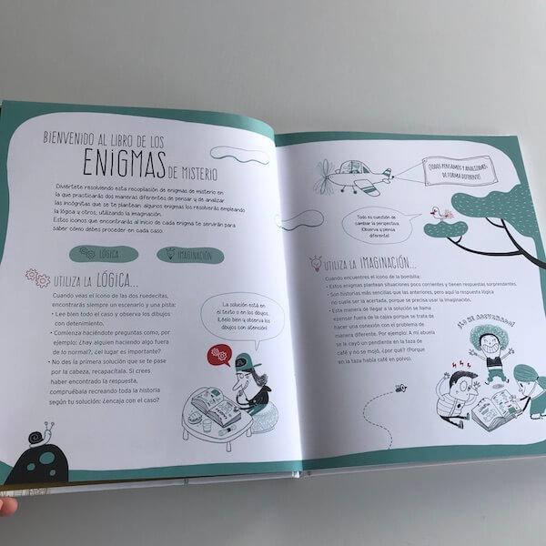 Enigmas - 25 historias de misterio (cómo funciona)