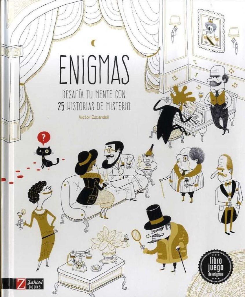 Enigmas - 25 historias de misterio (portada)