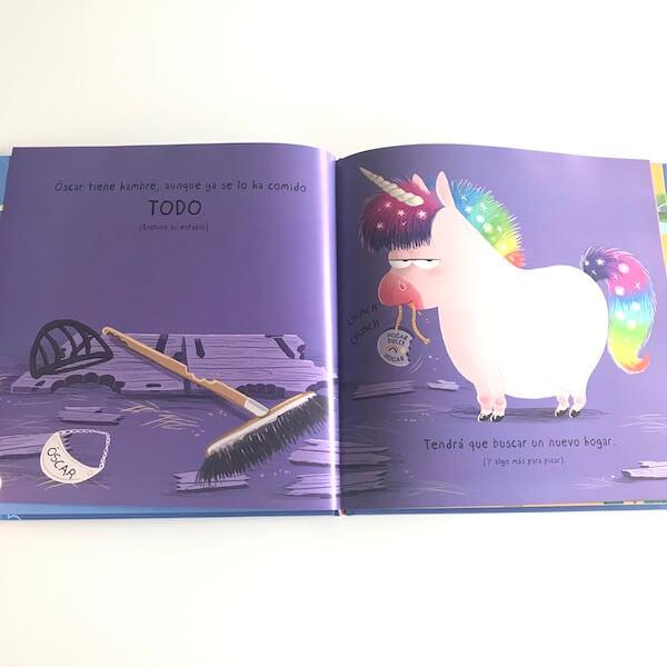 Óscar, el unicornio hambriento (1)
