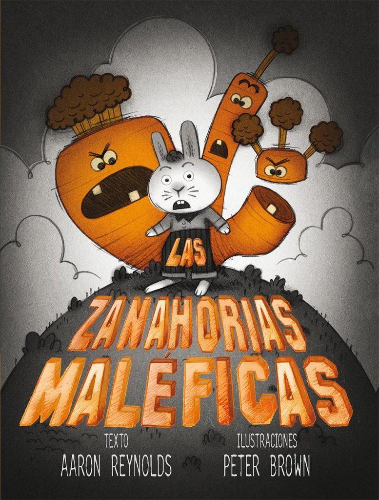 Las zanahorias maléficas (portada)