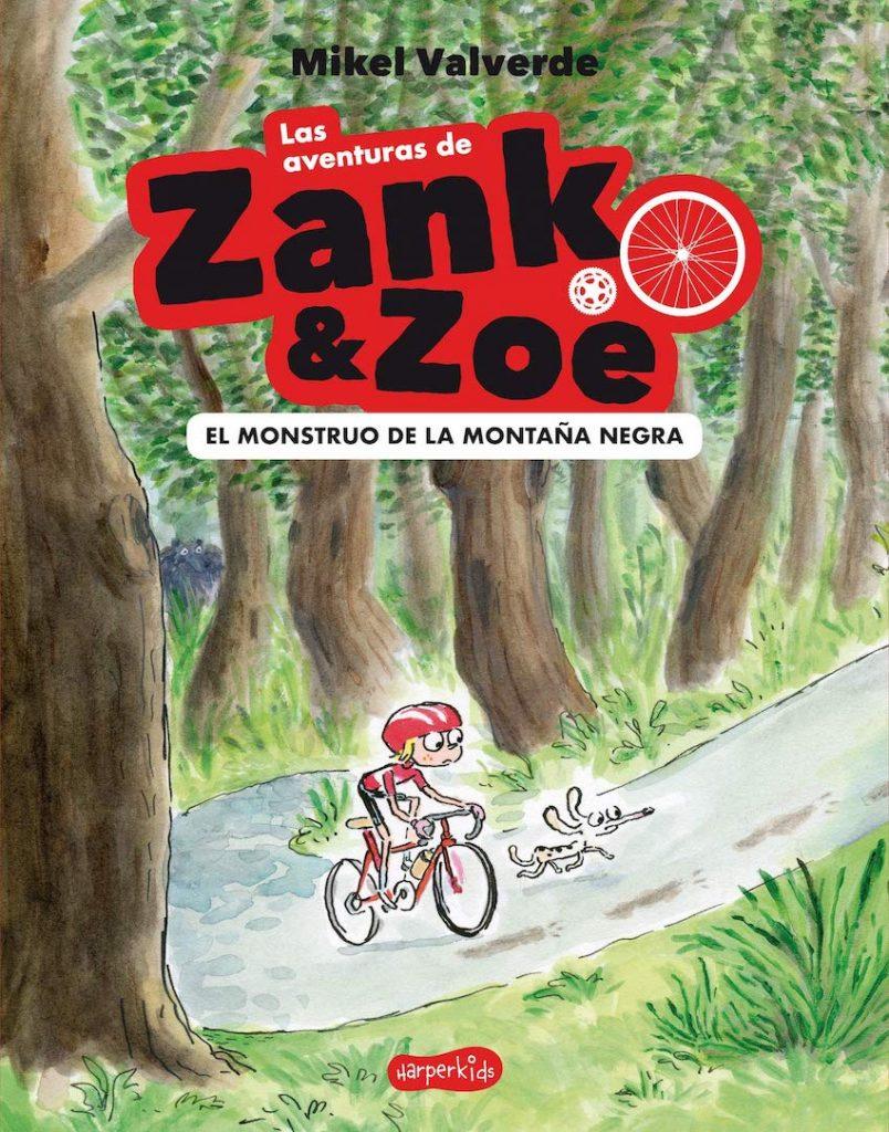 Las aventuras de Zank & Zoe (portada)