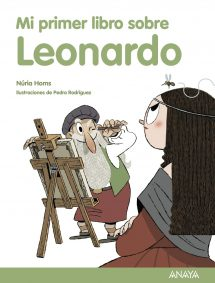 Mi primer libro sobre Leonardo (portada)