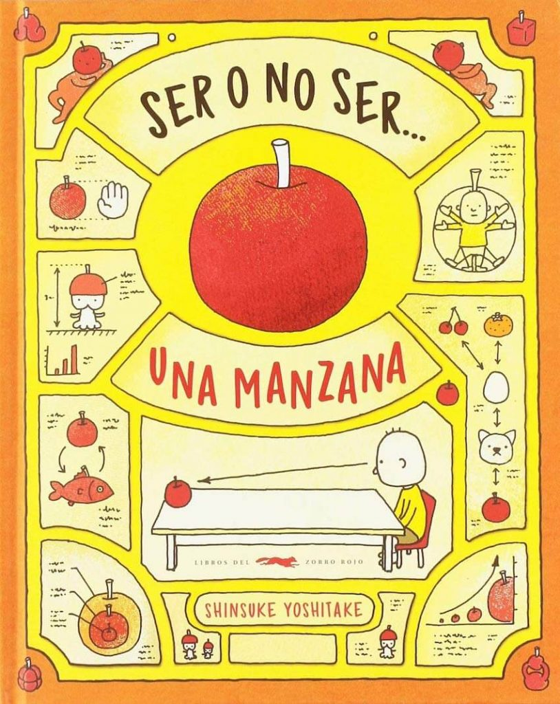 Ser o no ser una manzana (portada)