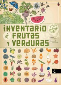 Inventario ilustrado de frutas y verduras Kalandraka (portada)