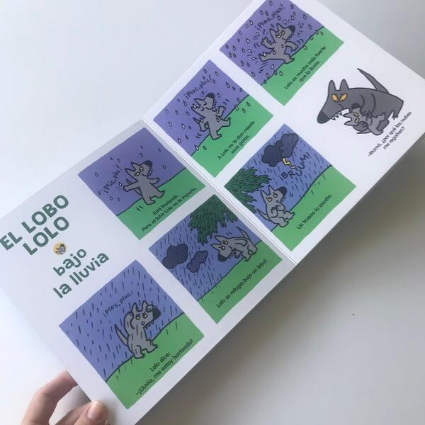 El lobo Lolo. Un lobito muy curioso (2)